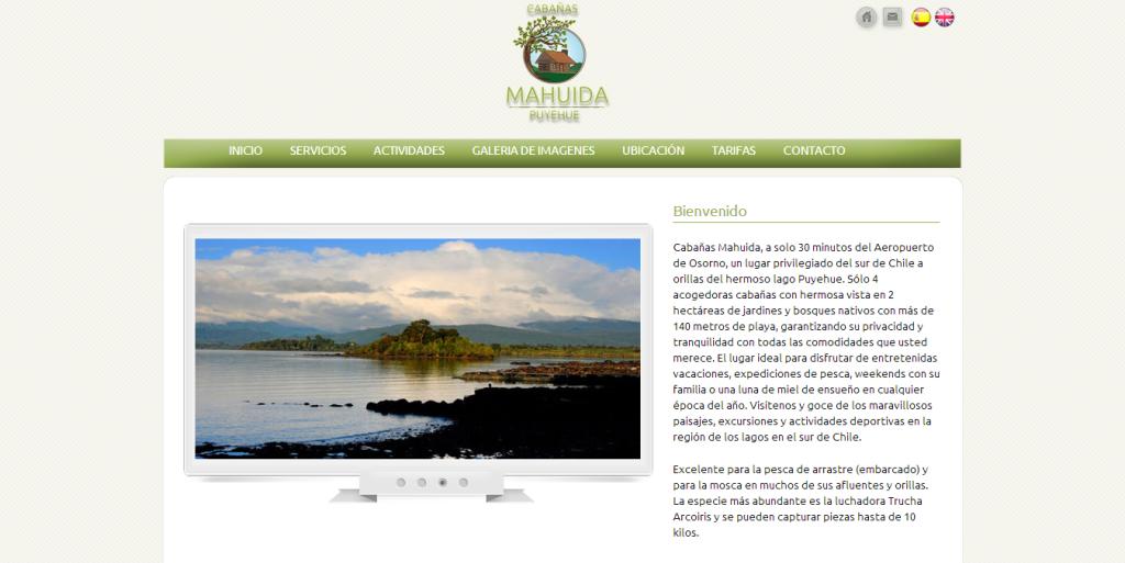 Cabañas Mahuida en Chile Puyehue