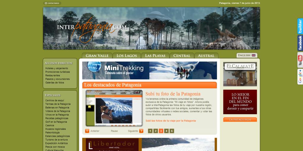 Invierno 2013 en la Patagonia - Turismo en InterPatagonia