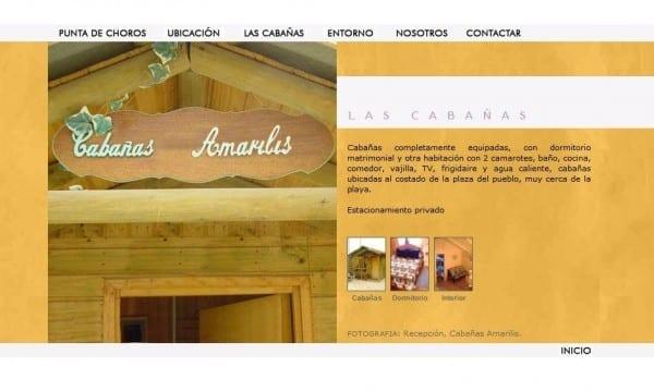 Cabañas Amarilis - Punta de Choros - 4ª Región - www_ananucas_cl_cabanas_htm