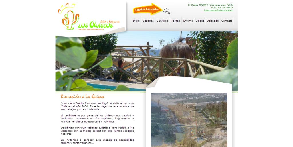 Cabañas Los Quiscos - Guanaqueros, Chile