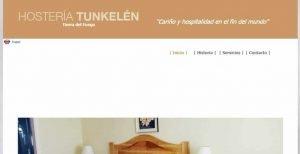 cabañas hosteria Tunkelen